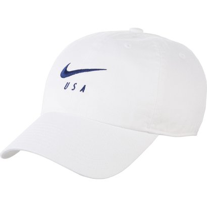 Fan Apparel & Souvenirs 2019 New Style Us Usa Soccer Hat Cap Buckle Strap White One Size