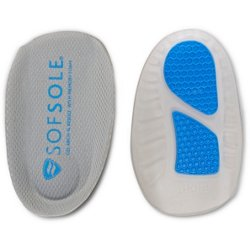 Men's Gel Arch with Memory Foam 3/4 Insole