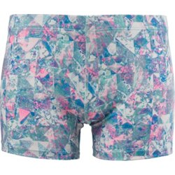 Girls' Printed Moisture Wicking Training Short