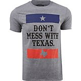 Southern Swag Men's Don't Mess with Texas Short Sleeve T-shirt