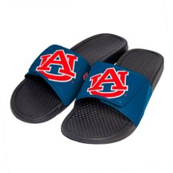 Boys' Auburn University Cropped Big Logo Slide Sandals
