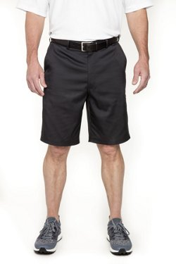 Men's Collection Dobby Diamond Texture Cargo Golf Shorts 9.5 in