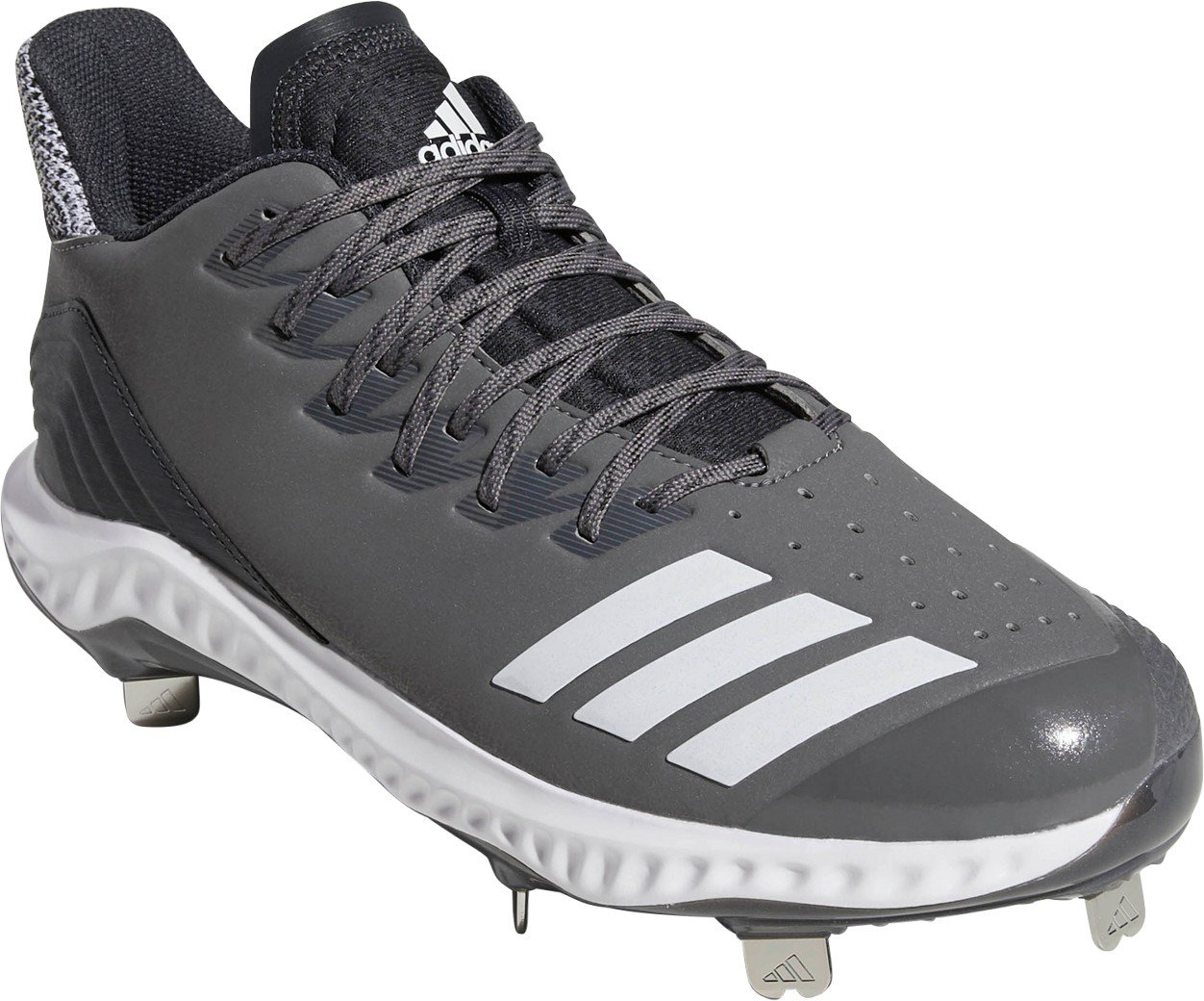 559bd59a8 adidas Men s Icon Bounce Low Metal Baseball Cleats