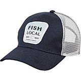 472a4e2dfd5e Men's Fish Local Mesh Snapback Cap