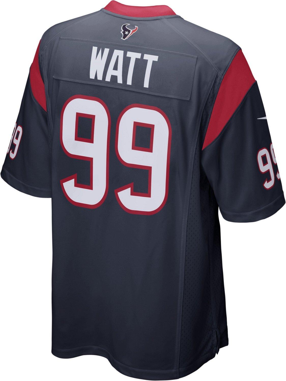 purchase cheap 3331a 45b4f Nike Men's Houston Texans J.J. Watt Team Color Game Jersey