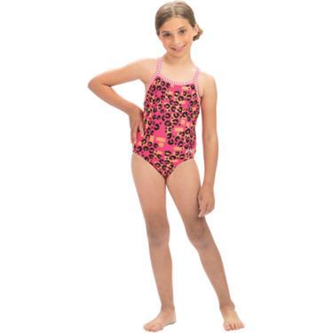 750e05bb28 Dolfin Girls' Uglies RAWR One Piece Swimsuit | Academy