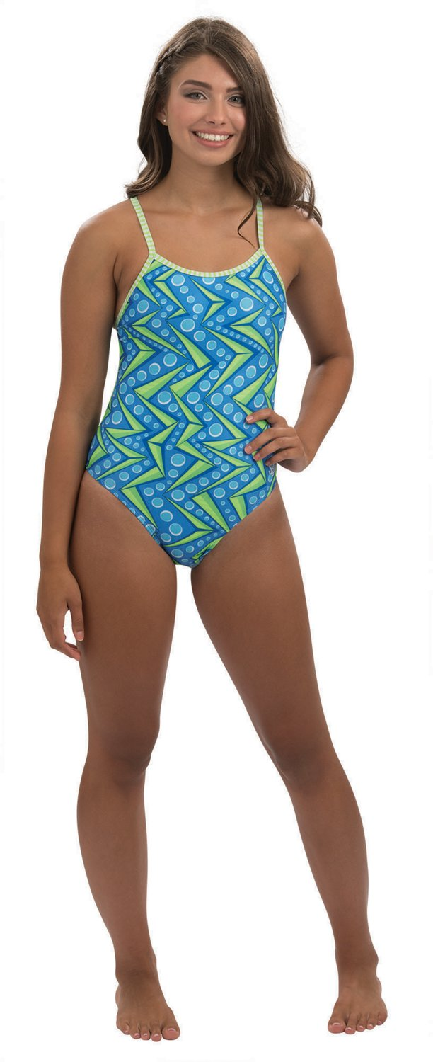 c0687d42aac2e Dolfin Women's Uglies Maya String Back One Piece Swimsuit | Academy