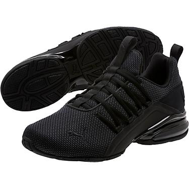 all black puma running shoes