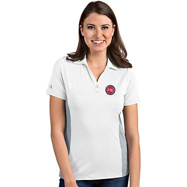 Antigua Women's Detroit Pistons Venture Polo Shirt