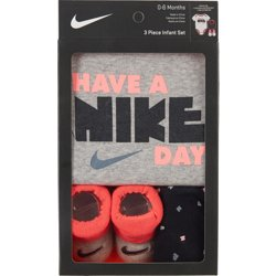 Infant Girls' Have A Nike Day 3-Piece Set