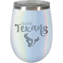 Houston Texans Diamond Collection Opal 12 oz Wine Tumbler