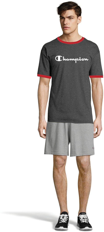222d832e1 Display product reviews for Champion Men's Classic Jersey Ringer Script  Logo T-shirt