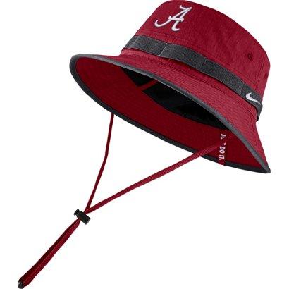 timeless design 9a67e a4ef5 ... Nike Men s University of Alabama Sideline Dry Bucket Hat. Alabama  Crimson Tide Headwear. Hover Click to enlarge