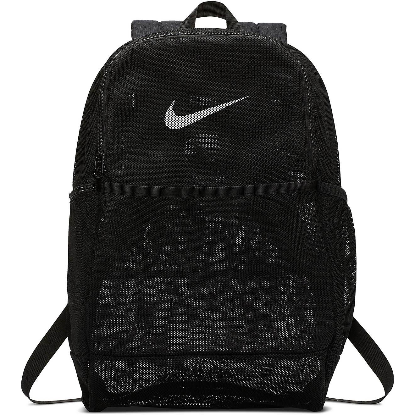 información para buscar autorización salida para la venta Nike Brasilia Mesh 9.0 Training Backpack | Academy