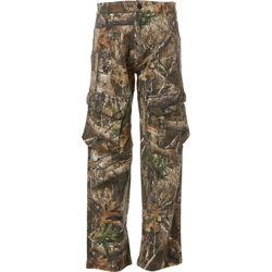 Boys' Camo Hill Country 7-Pocket Twill Hunting Pants