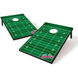 Tailgate Toss Football Field Cornhole Set