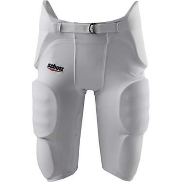 Large White Schutt Men/'s Integrated Adult Football Pants