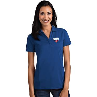 Antigua Women's Southern Methodist University Tribute Polo Shirt