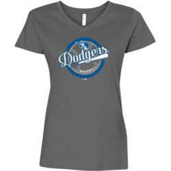 Women's Oklahoma City Dodgers Depth V-neck T-shirt