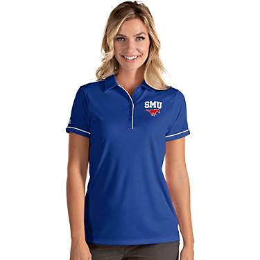 Antigua Women's Southern Methodist University Salute Polo Shirt
