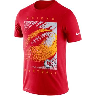 a0fe78ac3 Nike Men's Kansas City Chiefs Dri-FIT Mezzo Icon T-shirt | Academy