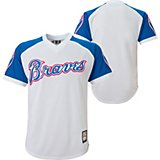 a5f671bf7 Boys  Atlanta Braves Cooperstown Replica Jersey T-shirt. Quick View.  Majestic
