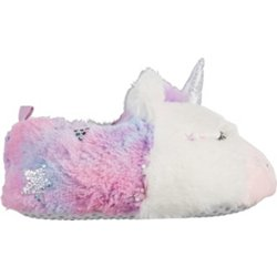 Girls' Sparkle Unicorn Slippers
