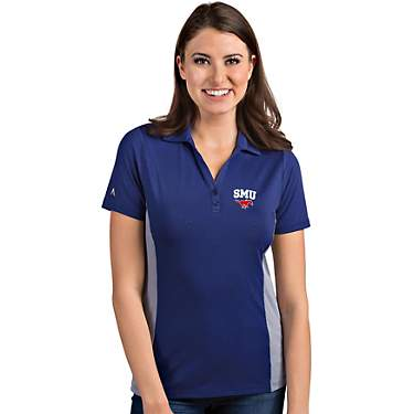 Antigua Women's Southern Methodist University Venture Polo Shirt