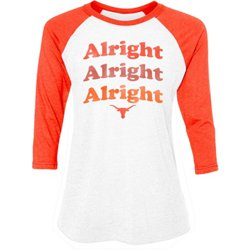 Women's University of Texas Alright Trio Raglan T-shirt