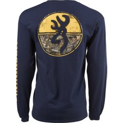 Men's Classic Realtree Edge Circles Long Sleeve T-shirt
