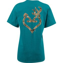 Women's Realtree Edge Buckheart T-shirt