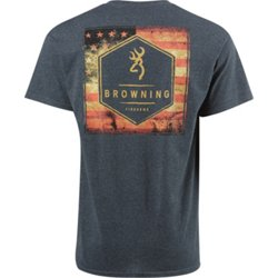 Men's Vintage Flag Box Graphic T-shirt
