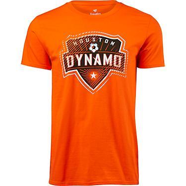 half off 147d6 83592 Houston Dynamo Men's Slash and Dash T-shirt