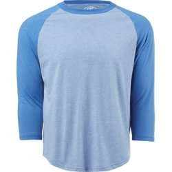 Men's Heather Fashion 3/4 Sleeve Top