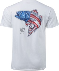 Men's Patriotic Sea Trout T-shirt