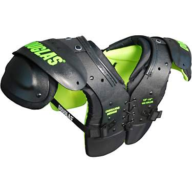 Douglas Boys' Commando Football Shoulder Pads