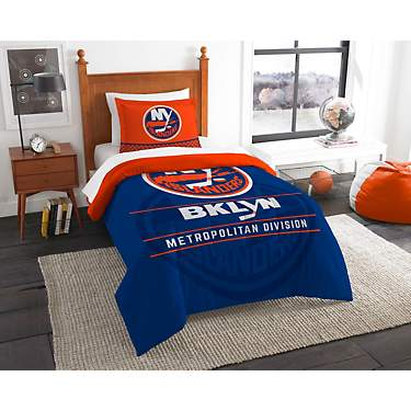 The Northwest Company New York Islanders 2-Piece Draft Twin Bedding Set