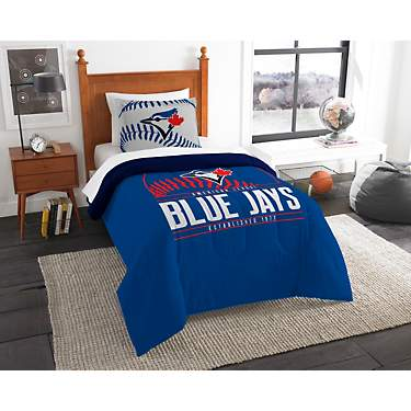 The Northwest Company Toronto Blue Jays 2-Piece Grandslam Twin Bedding Set