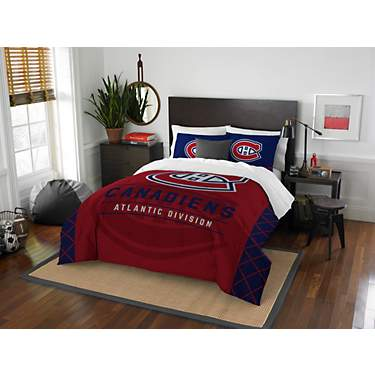 The Northwest Company Montreal Canadiens 3-Piece Draft Full/Queen Bedding Set