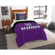 The Northwest Company Sacramento Kings 2-Piece Reverse Slam Twin Bedding Set