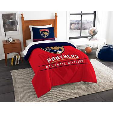 The Northwest Company Florida Panthers 2-Piece Draft Twin Bedding Set