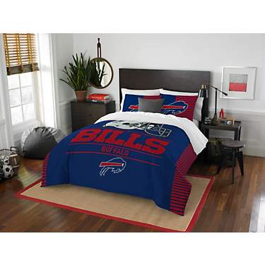 The Northwest Company Buffalo Bills 3-Piece Draft Full/Queen Bedding Set