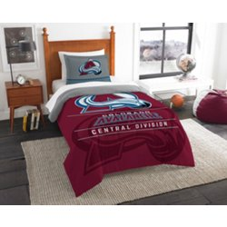 Colorado Avalanche 2-Piece Draft Twin Bedding Set