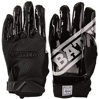 Battle Adults' Triple Threat Football Gloves