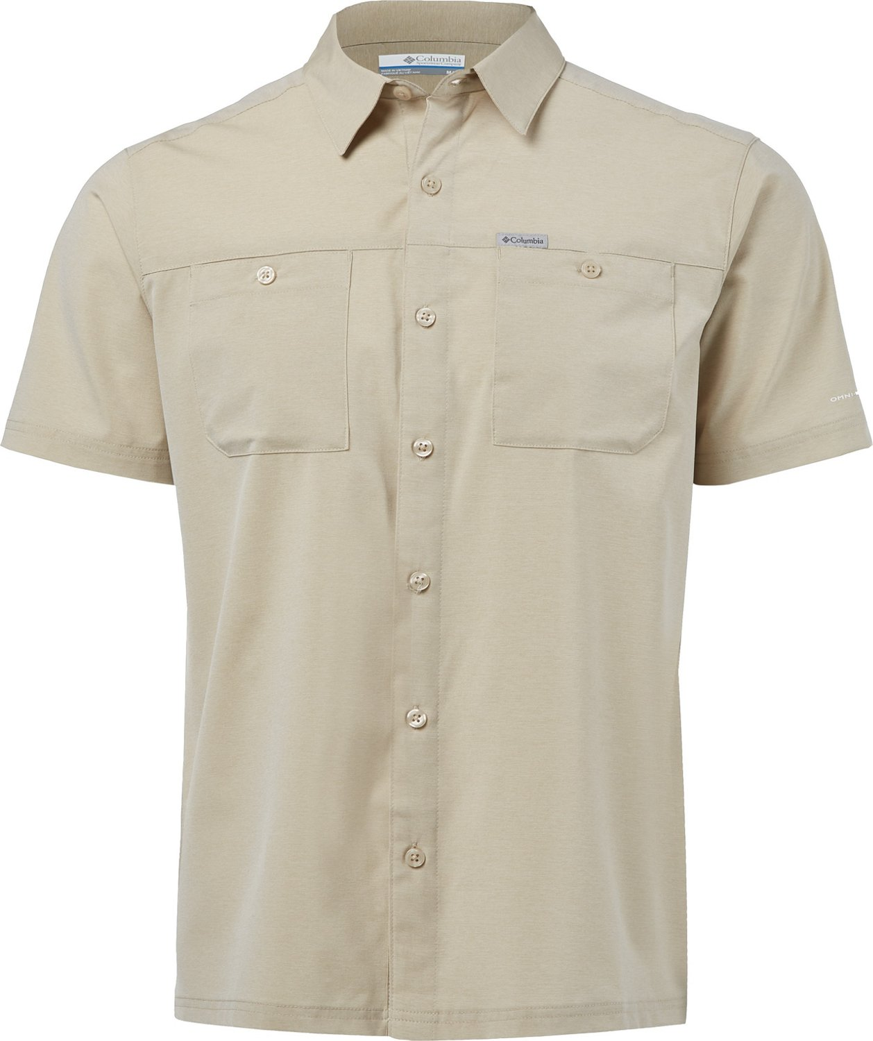 bafafb25e29 Columbia Sportswear Men's Logan Lake Short Sleeve Button-Down Shirt ...