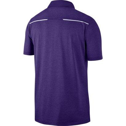 56c95cebc83a6 Nike Men s Louisiana State University Dri-FIT Breathe Polo Shirt ...