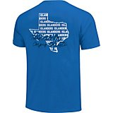 6c18fb95 Image One Women's Texas A&M University Corpus Christi Allover State Pattern  T-shirt