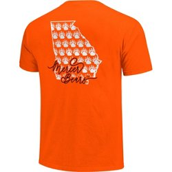 Women's Mercer University Allover State Pattern T-shirt