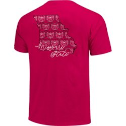 Women's Missouri State University Allover State Pattern T-shirt