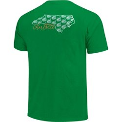 Women's University of North Carolina at Charlotte Allover State Pattern T-shirt